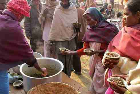 Food Distribution Camps in Punjab