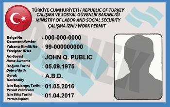 work permit in Turkey