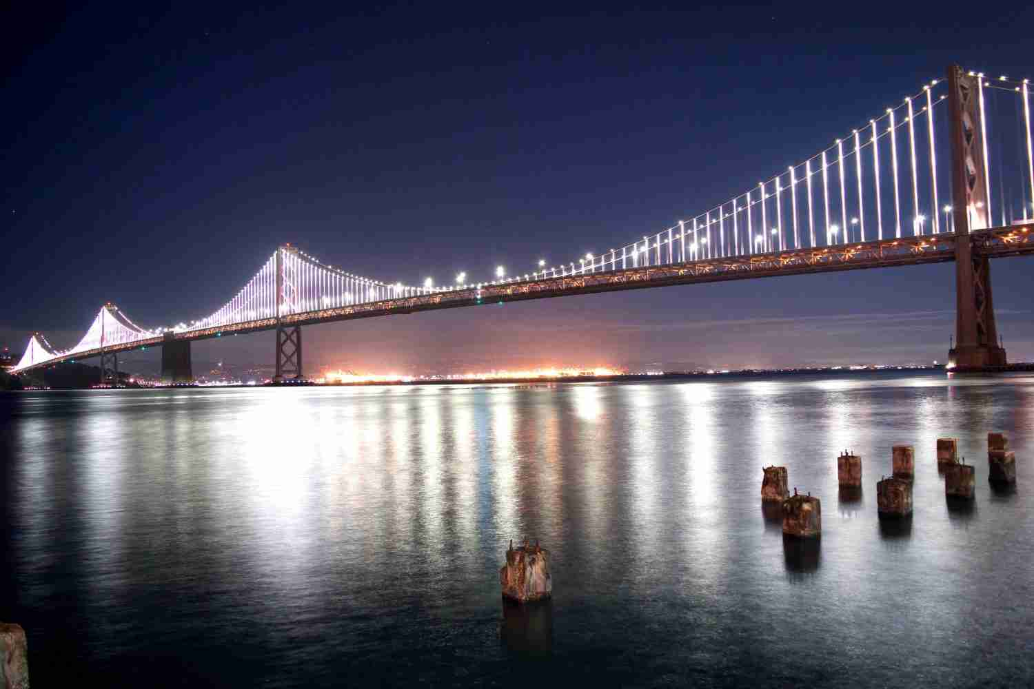 san francisco bay bridge, Places to visit in the United States
