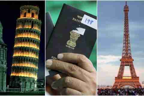 italy tourist visa for Indian citizens
