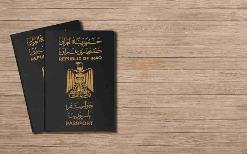 Visa free countries for Iraq