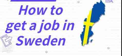 How to find a job in Sweden